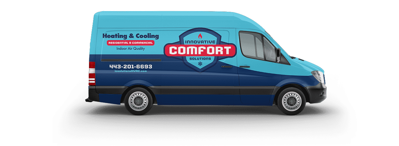 Innovative Comfort Solutions Fleet Van Wrap